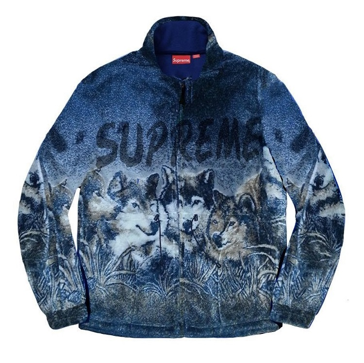 supreme シュプリーム リーク 2019ss 19ss Wolf Fleece Jacket