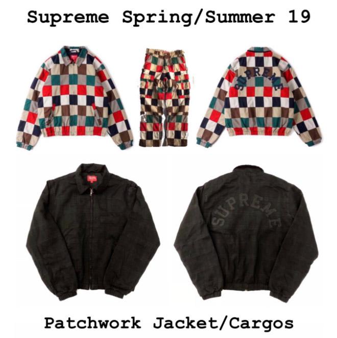 supreme シュプリーム リーク 2019ss 19ss Arc Logo Patchwork Jacket & Pant