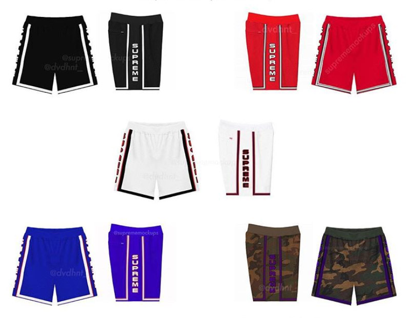 supreme シュプリーム リーク 2019ss 19ss Embroidered Logo Basketball Jersey, Short