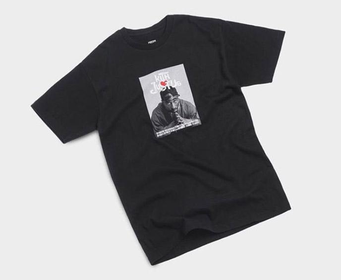 1/7発売 KITH MONDAY PROGRAM POETIC JUSTICE(ポエティック ジャスティス) コラボ Tシャツ