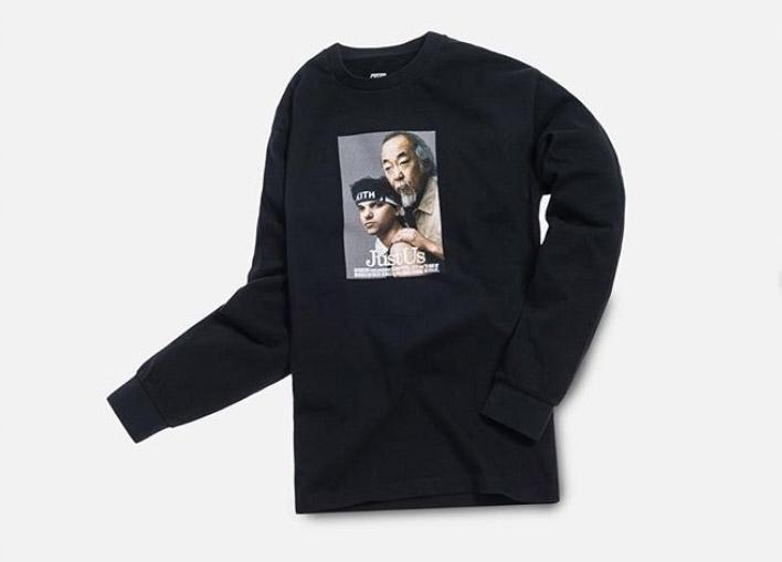 【1/14発売】KITH MONDAY PROGRAM The Karate Kid (ベスト・キッド) コラボ L/S Tシャツ