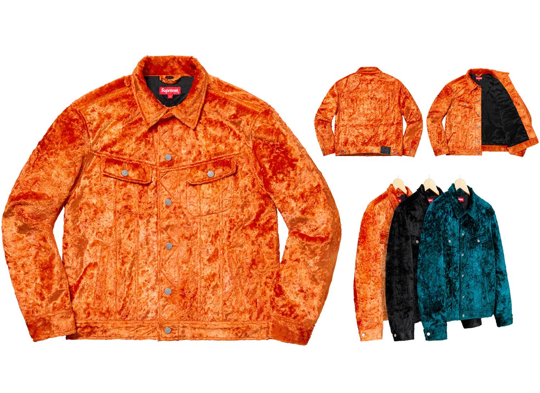 Fuzzy Pile Trucker Jacket