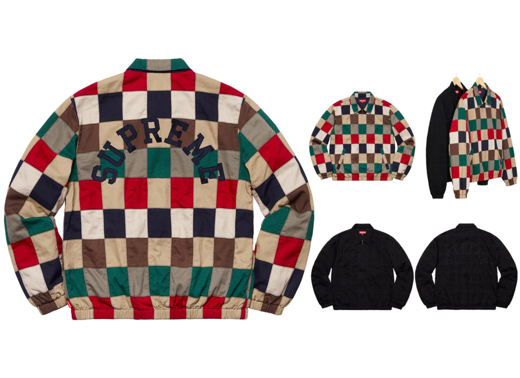 Patchwork Harrington Jacket