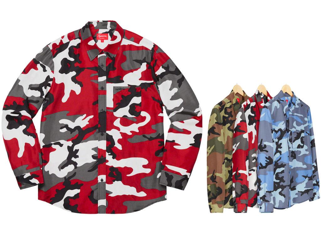 Silk Camo Shirt