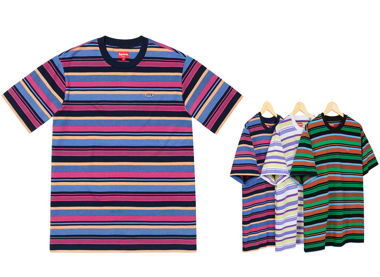 Multi Stripe S/S Top