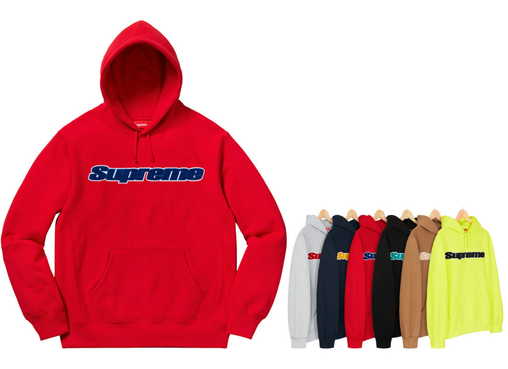 Chenille Hooded Sweatshirt