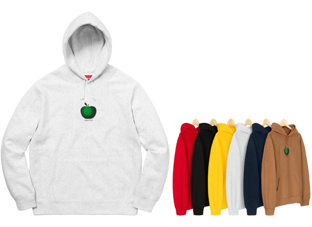 Apple Hooded Sweatshirt
