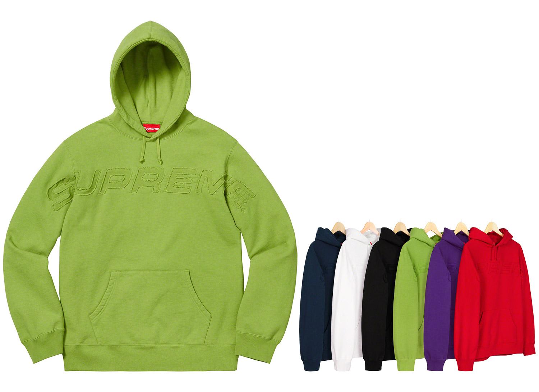 Set In Logo Hooded Sweatshirt