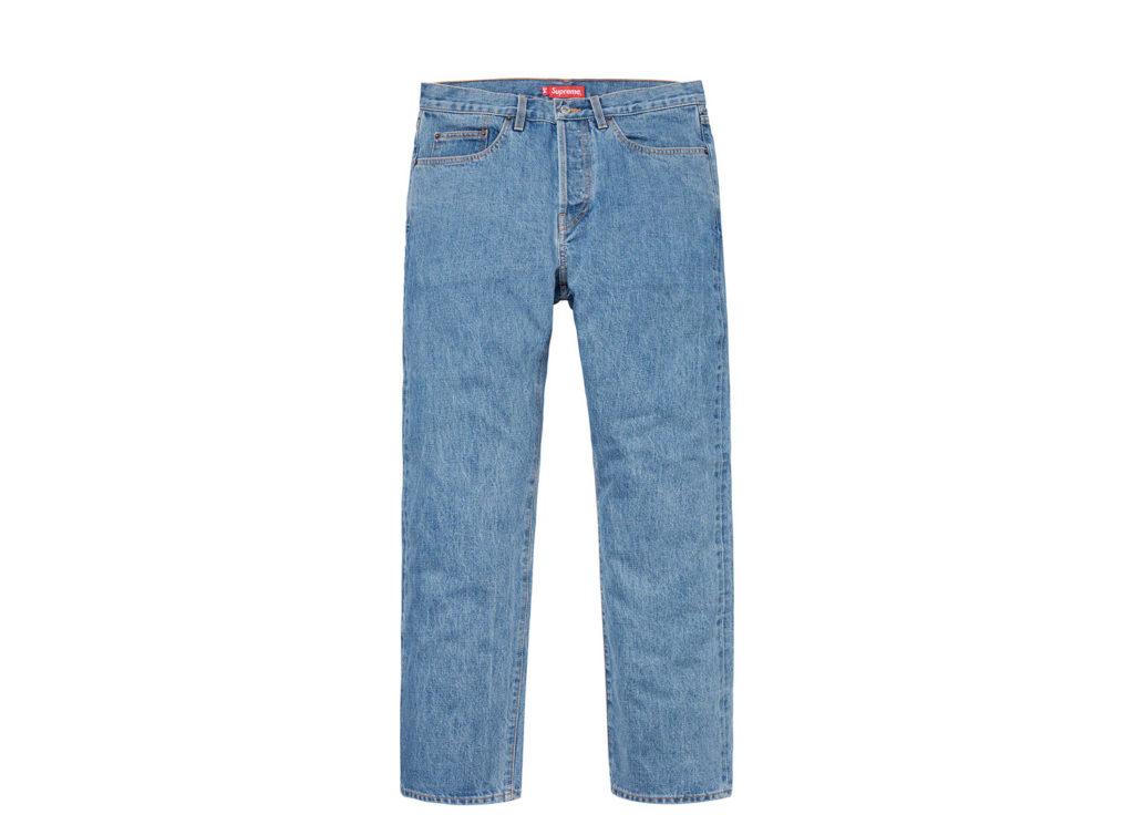 Stone Washed Slim Jean