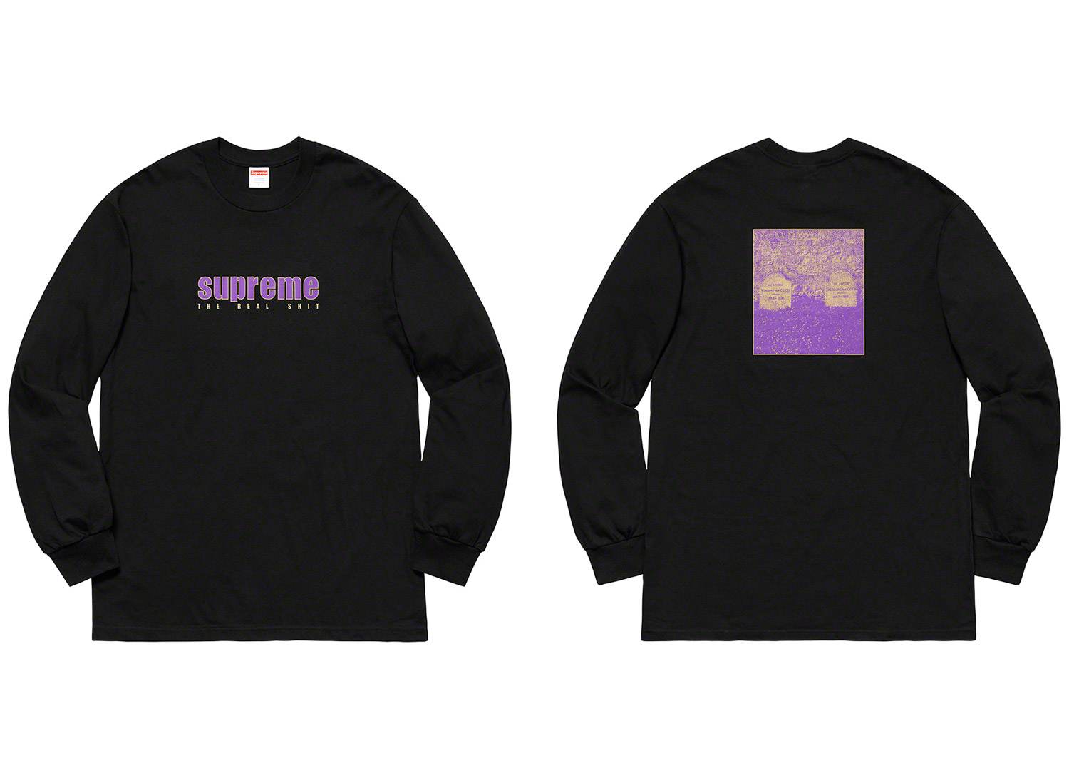 The Real Shit L/S Tee