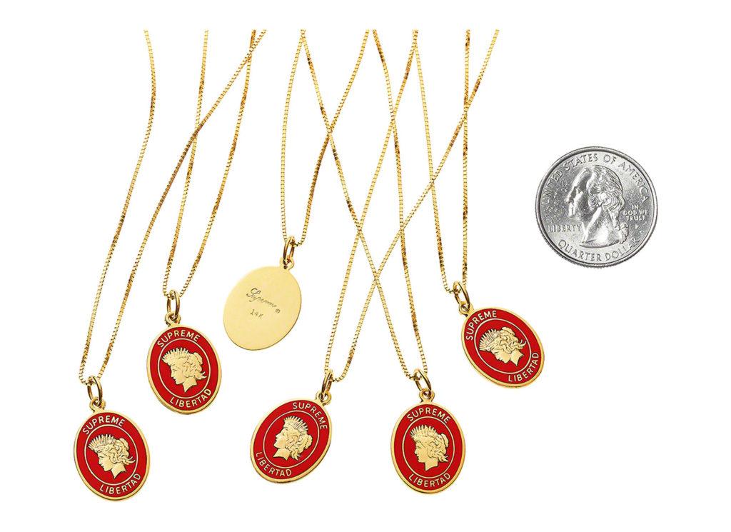 Libertad Gold Pendant