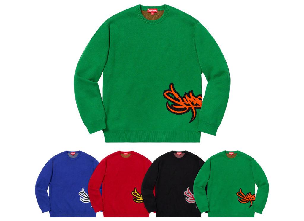 Tag Logo Sweater
