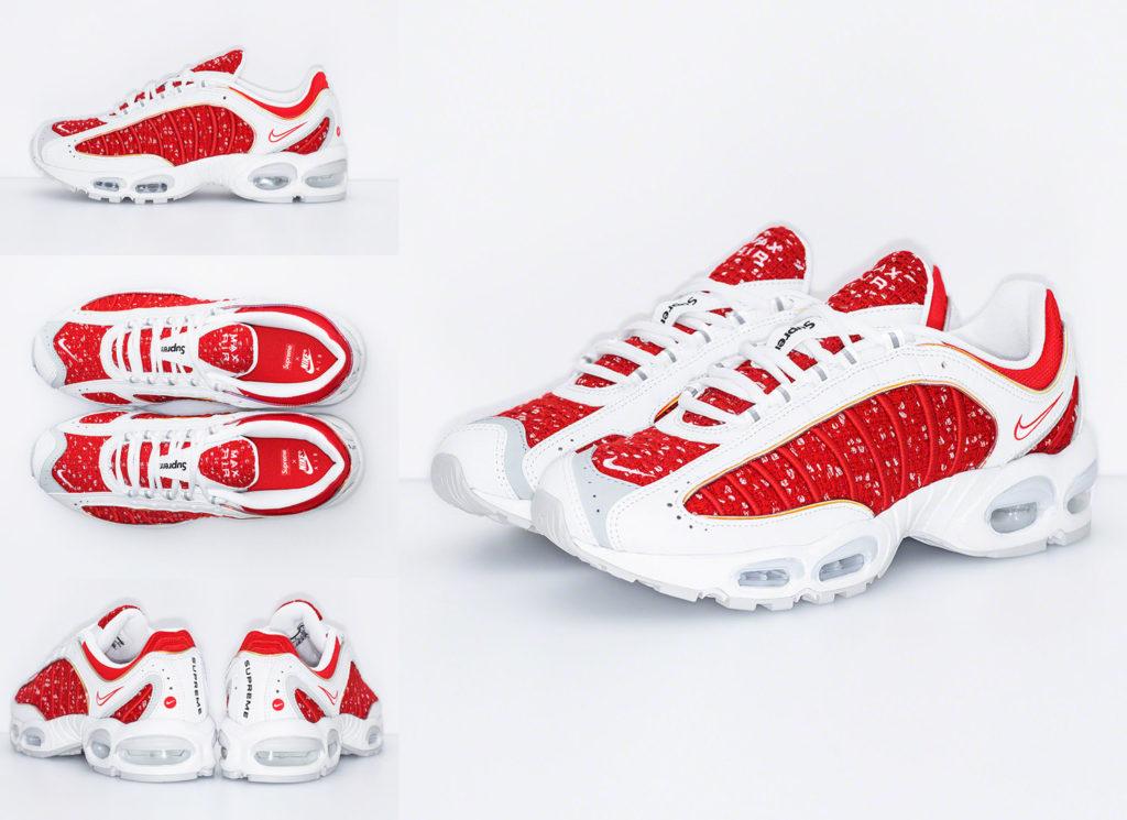 Supreme シュプリーム 2019ss week4 Nike Air Tailwind IV white