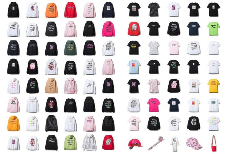 3/16発売 Anti Social Social Club(ASSC) 2019SS コレクション
