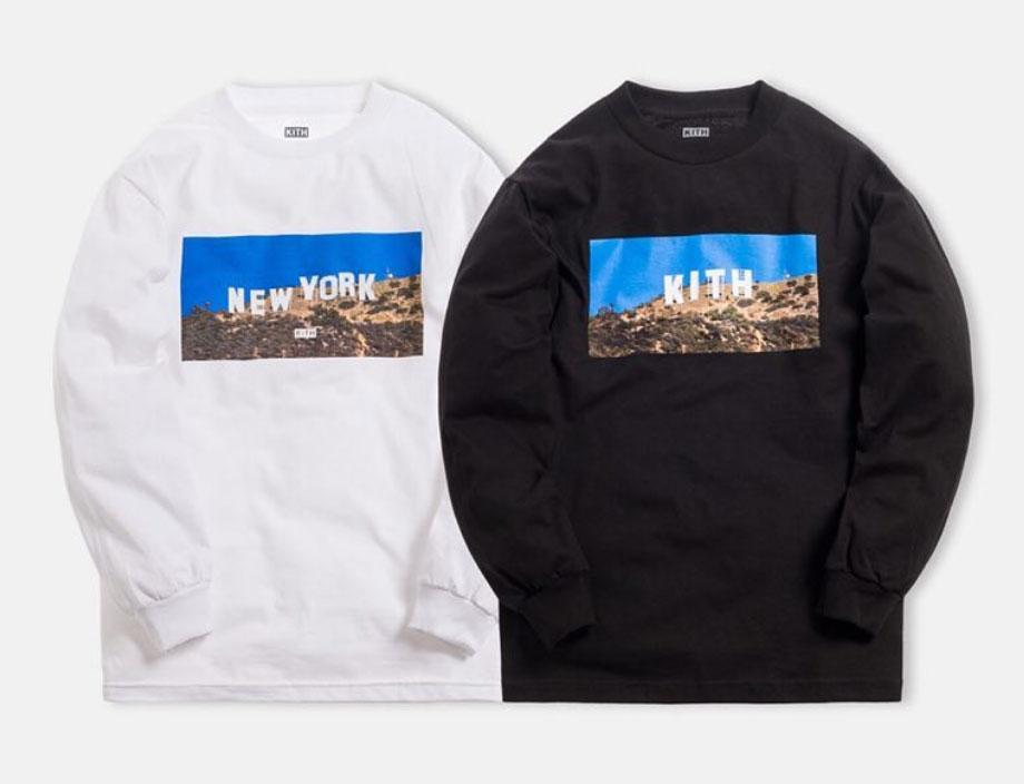 3/4発売 KITH MONDAY PROGRAM LA店1周年記念のL/S Tシャツ