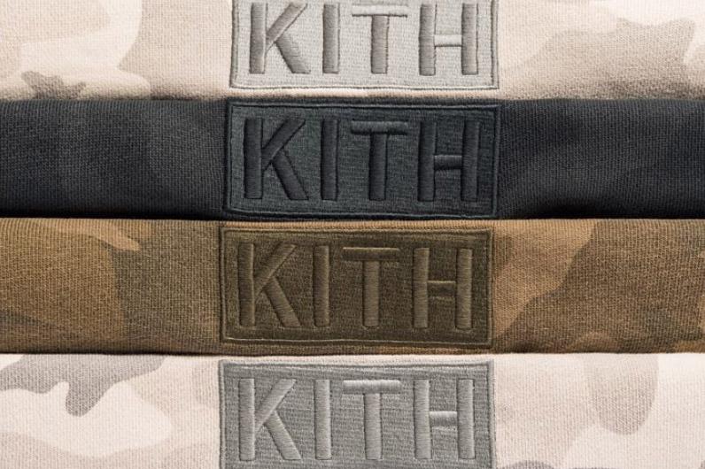 3/11発売 KITH MONDAY PROGRAM ボックスロゴ マルチカモパーカー