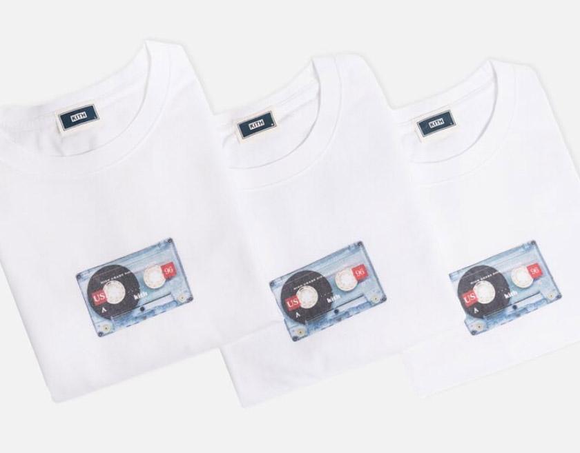 【3/25発売】今週のKITH MONDAY PROGRAMはカセットテープのアートワークデザイン