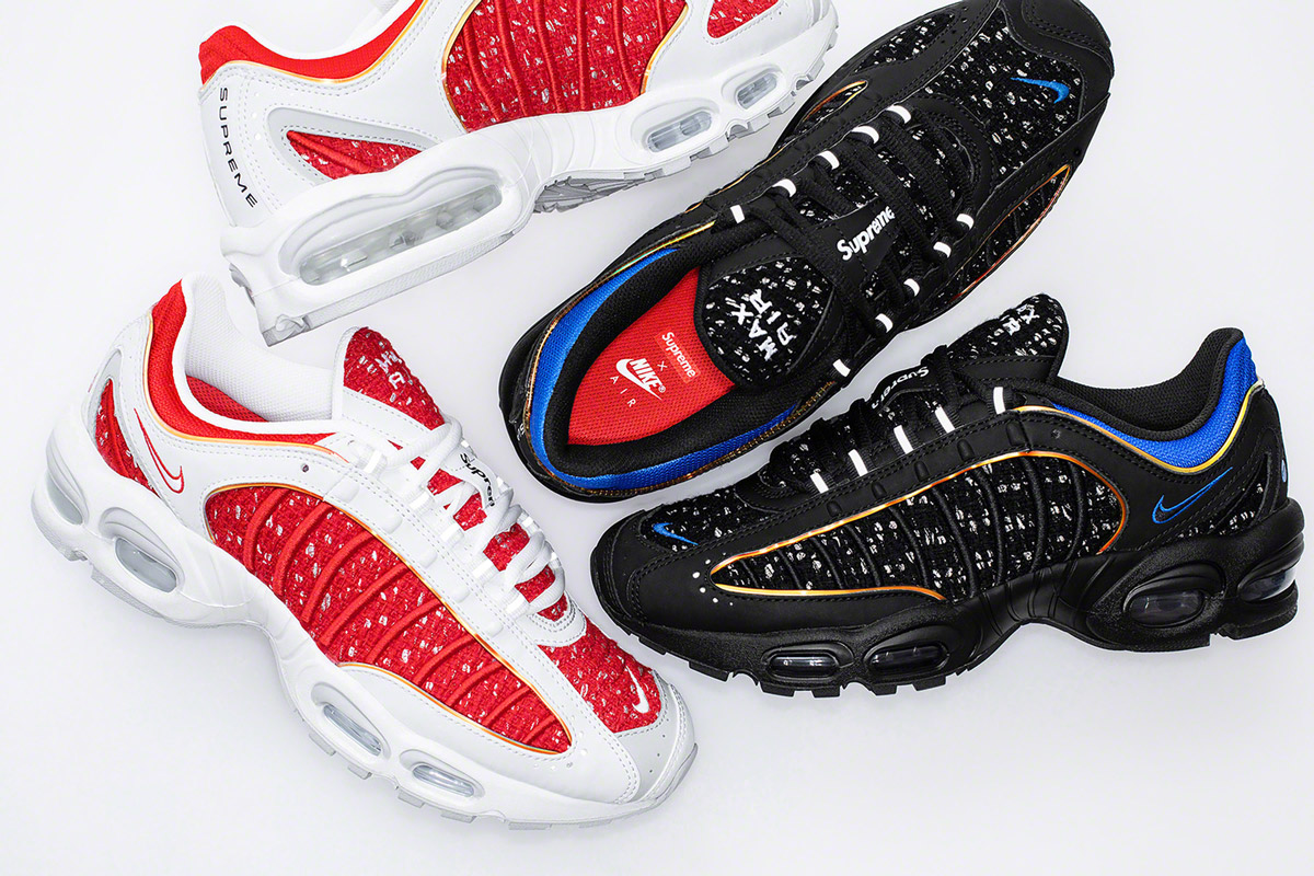 "3/25 SNKRSにて""Supreme / Nike Air Max Tailwind IV"" 発売"