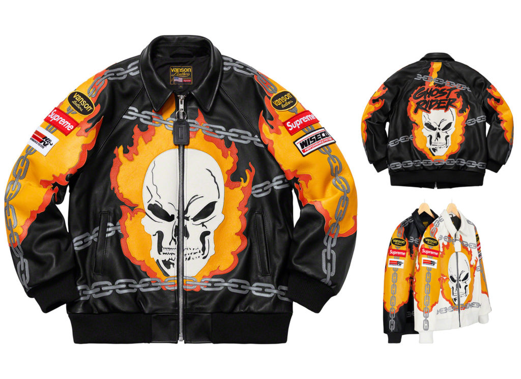 Supreme®/Vanson Leathers® Ghost Rider© Jacket