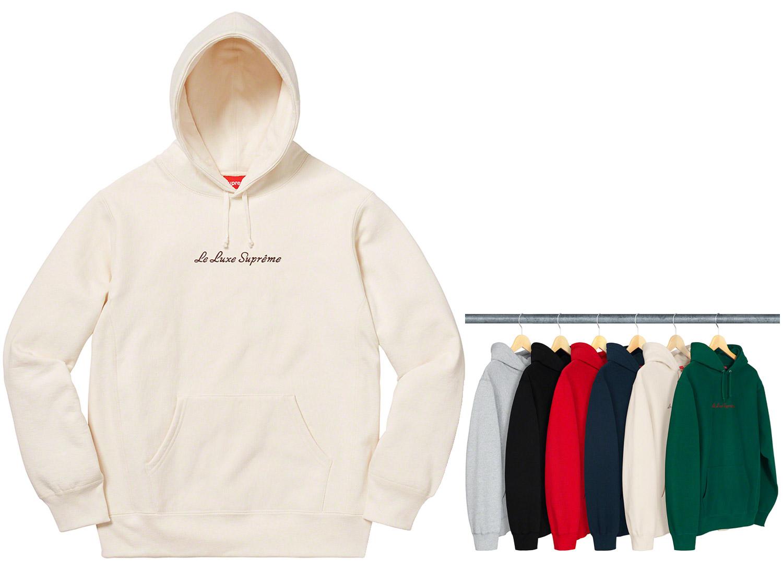 Le Luxe Hooded Sweatshirt