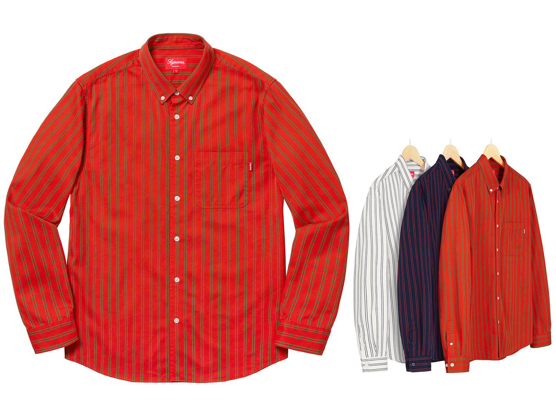 Stripe Twill Shirt