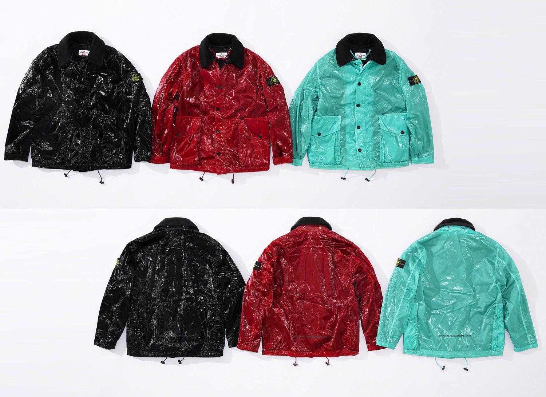 Supreme®/Stone Island® New Silk Light Jacket