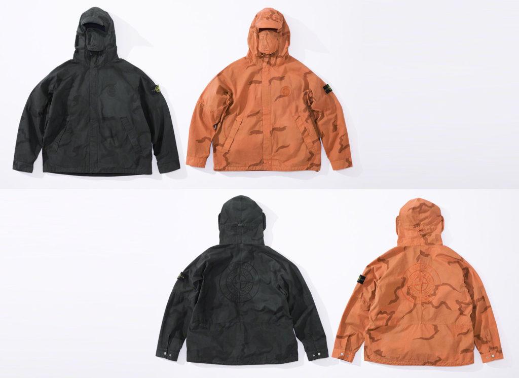 Supreme®/Stone Island® Riot Mask Camo Jacket