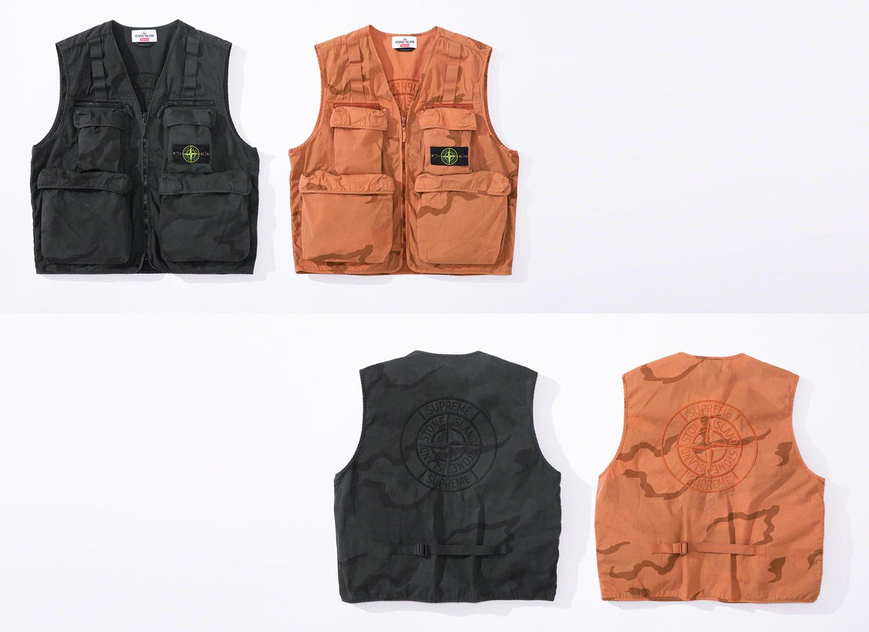 Supreme®/Stone Island® Camo Cargo Vest
