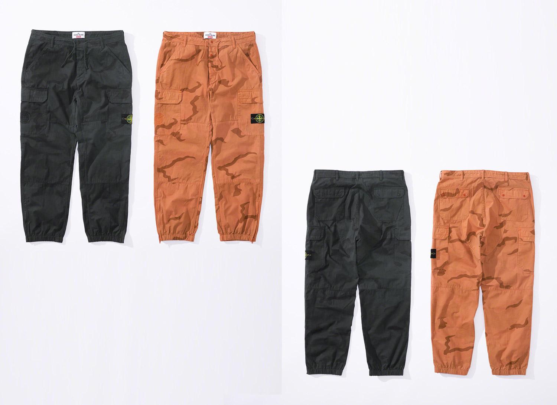 Supreme®/Stone Island® Camo Cargo Pant