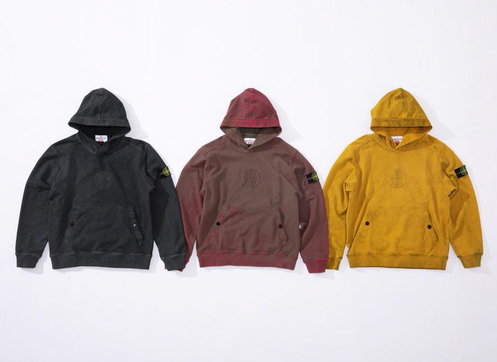 Supreme®/Stone Island® Hooded Sweatshirt