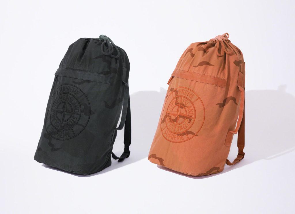 Supreme®/Stone Island® Camo Backpack