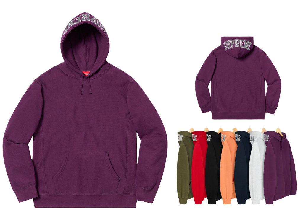 Sequin Arc Hooded Sweatshirt