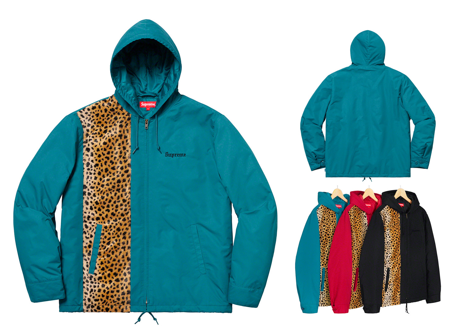 Cheetah Hooded Station Jacket