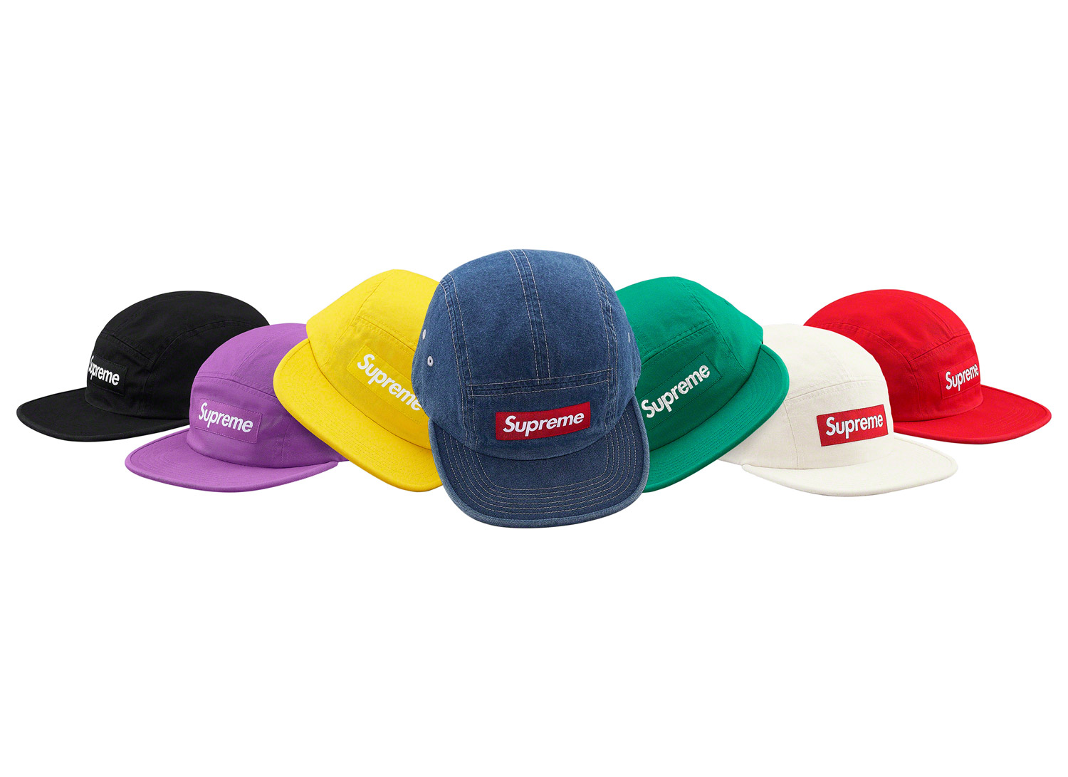 Washed Chino Twill Camp Cap