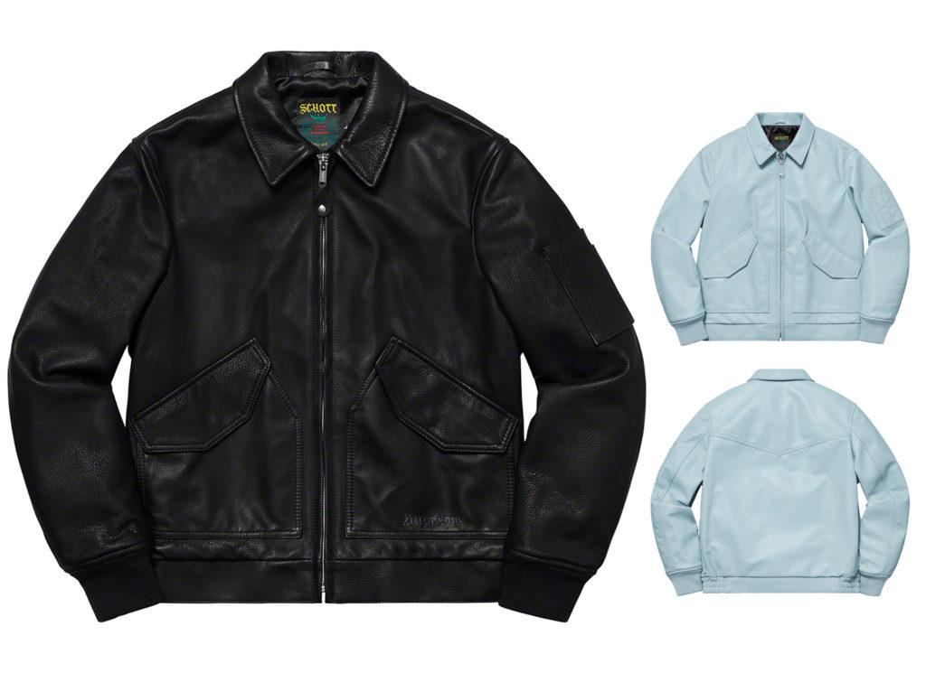 Supreme®/Schott® Leather Tanker Jacket
