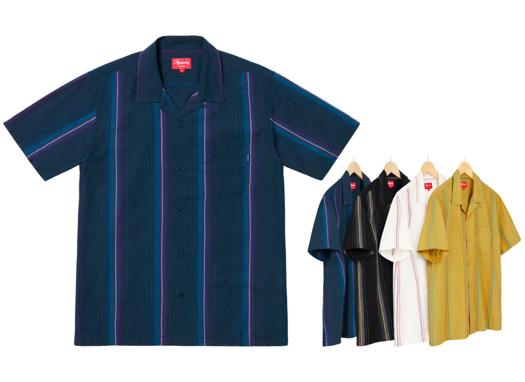 Vertical Stripe S/S Shirt