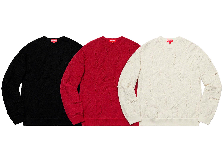 Textured Pattern Sweater