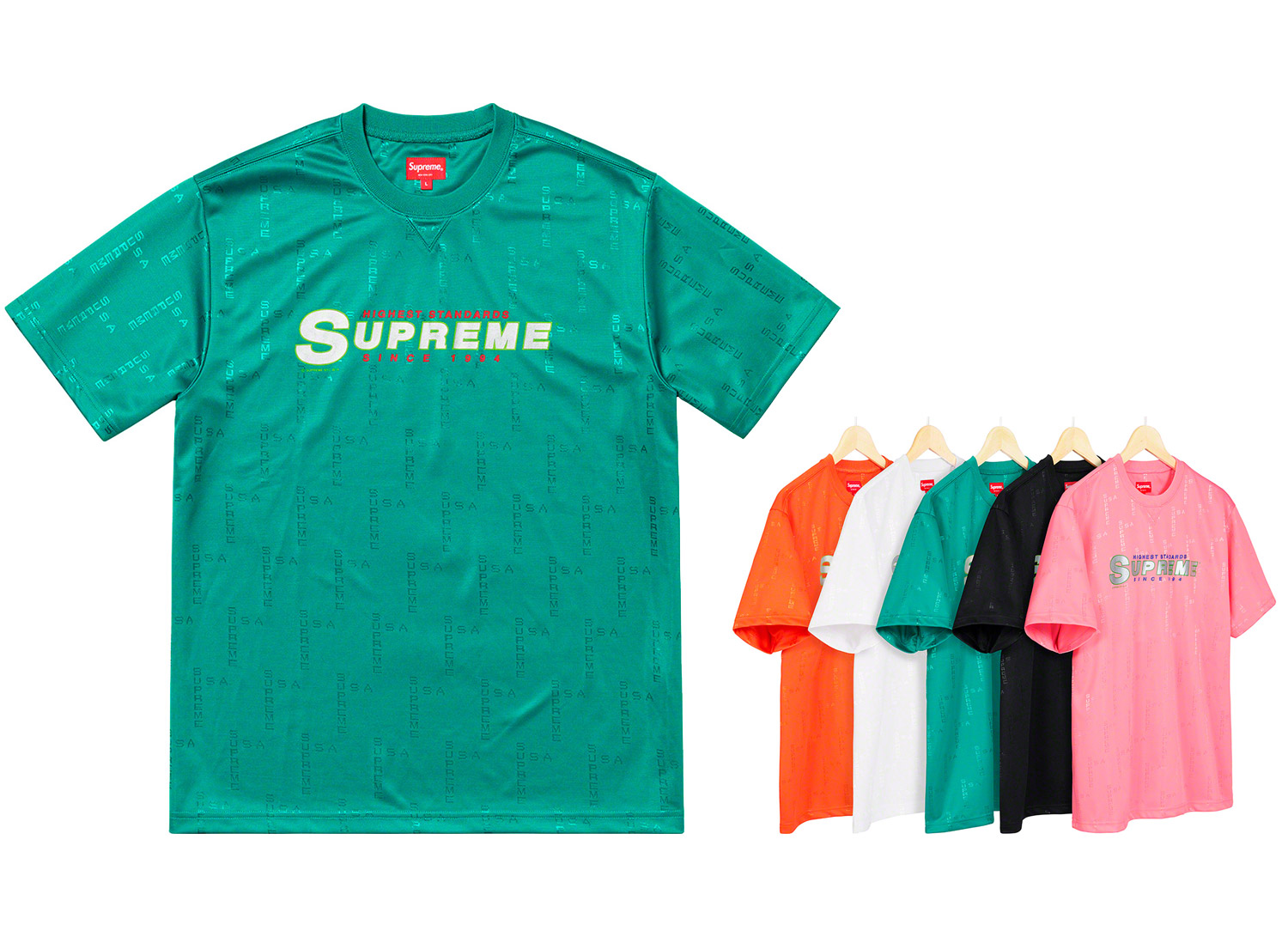 Highest Standard Athletic S/S Top