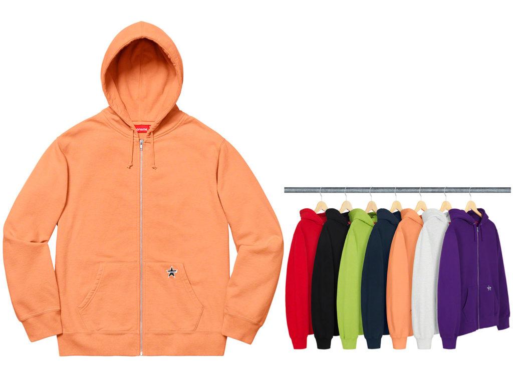 Star Zip Up Sweatshirt