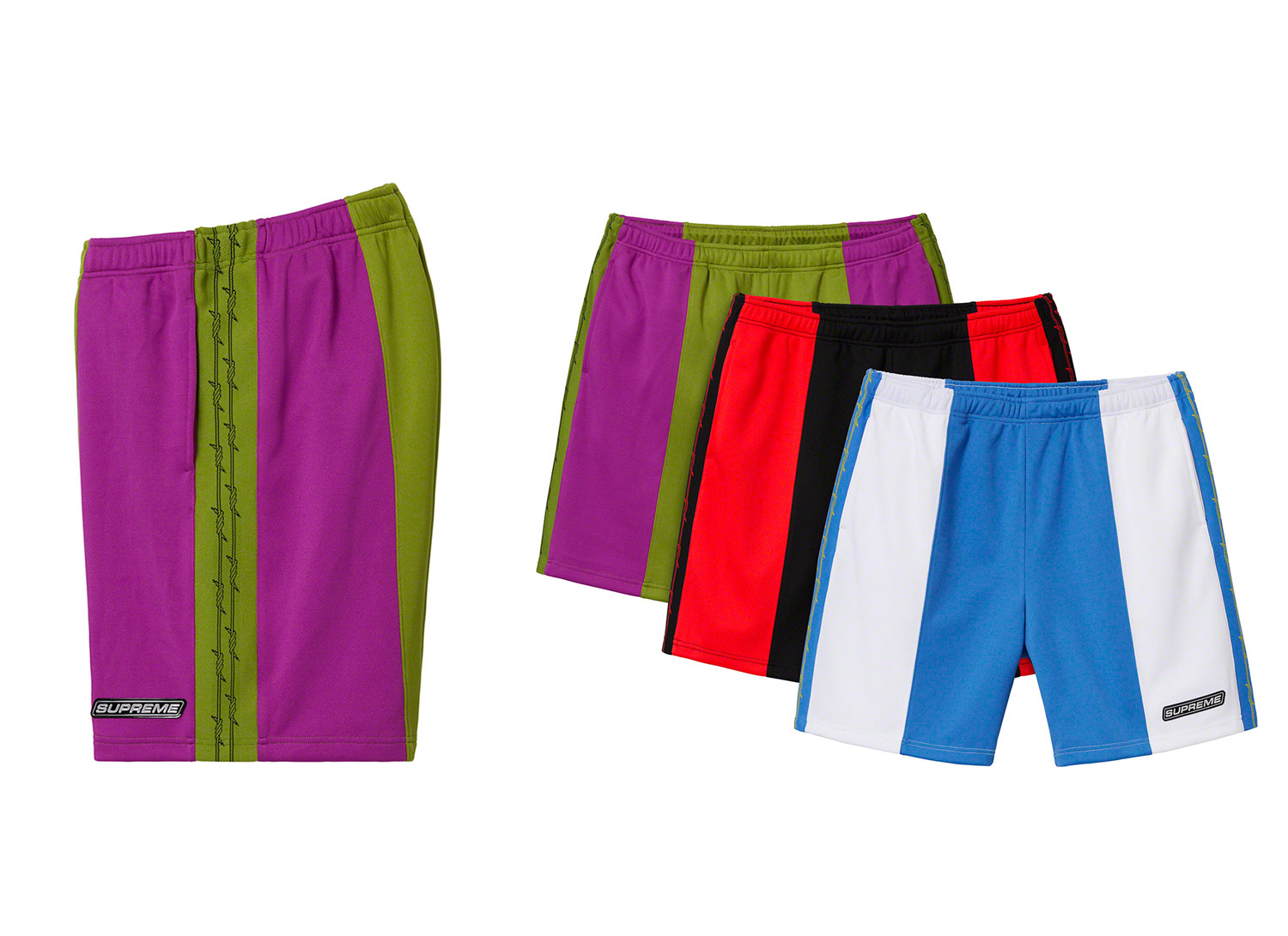 Barbed Wire Athletic Short