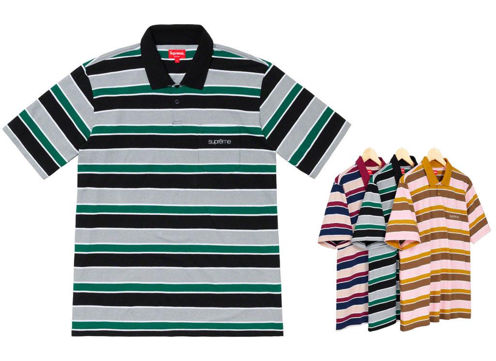 Classic Logo Stripe Polo