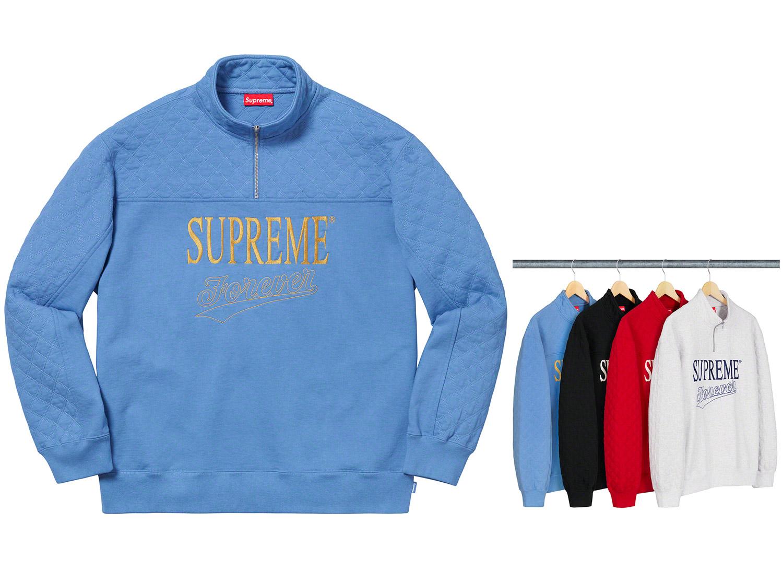 Forever Half Zip Sweatshirt