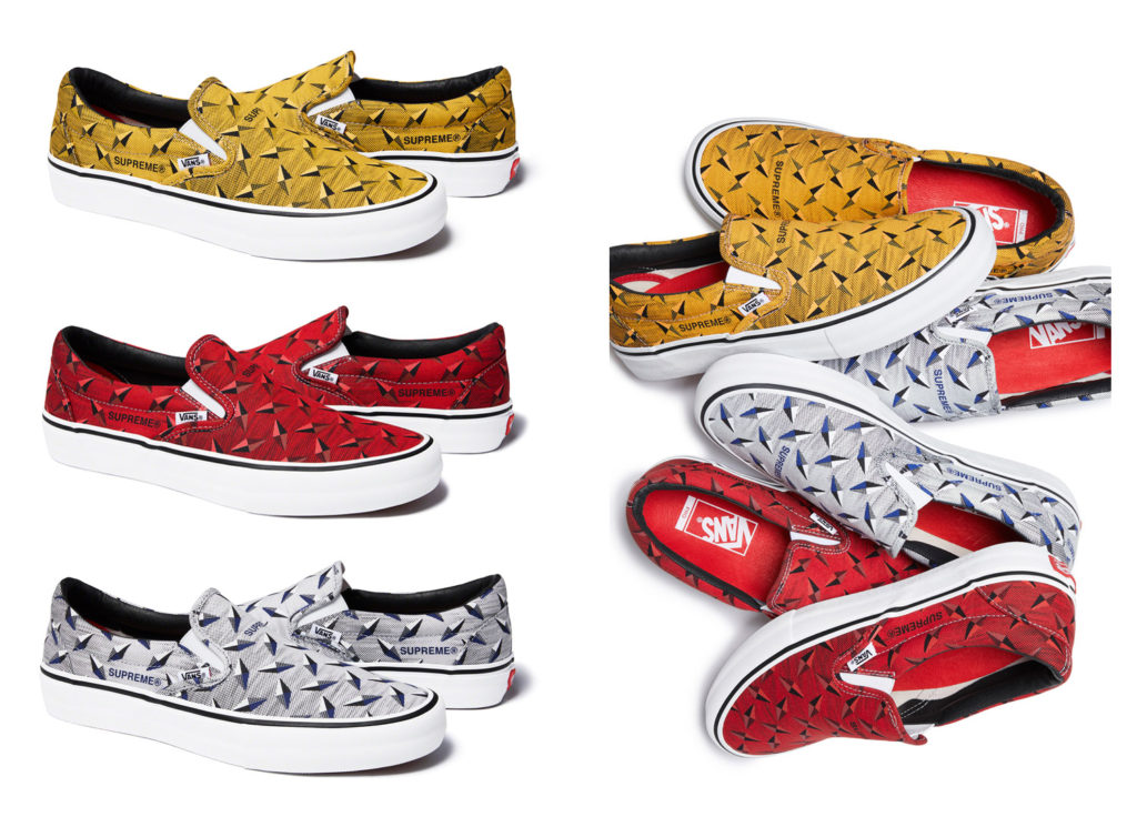 Supreme®/Vans® Diamond Plate Slip-On