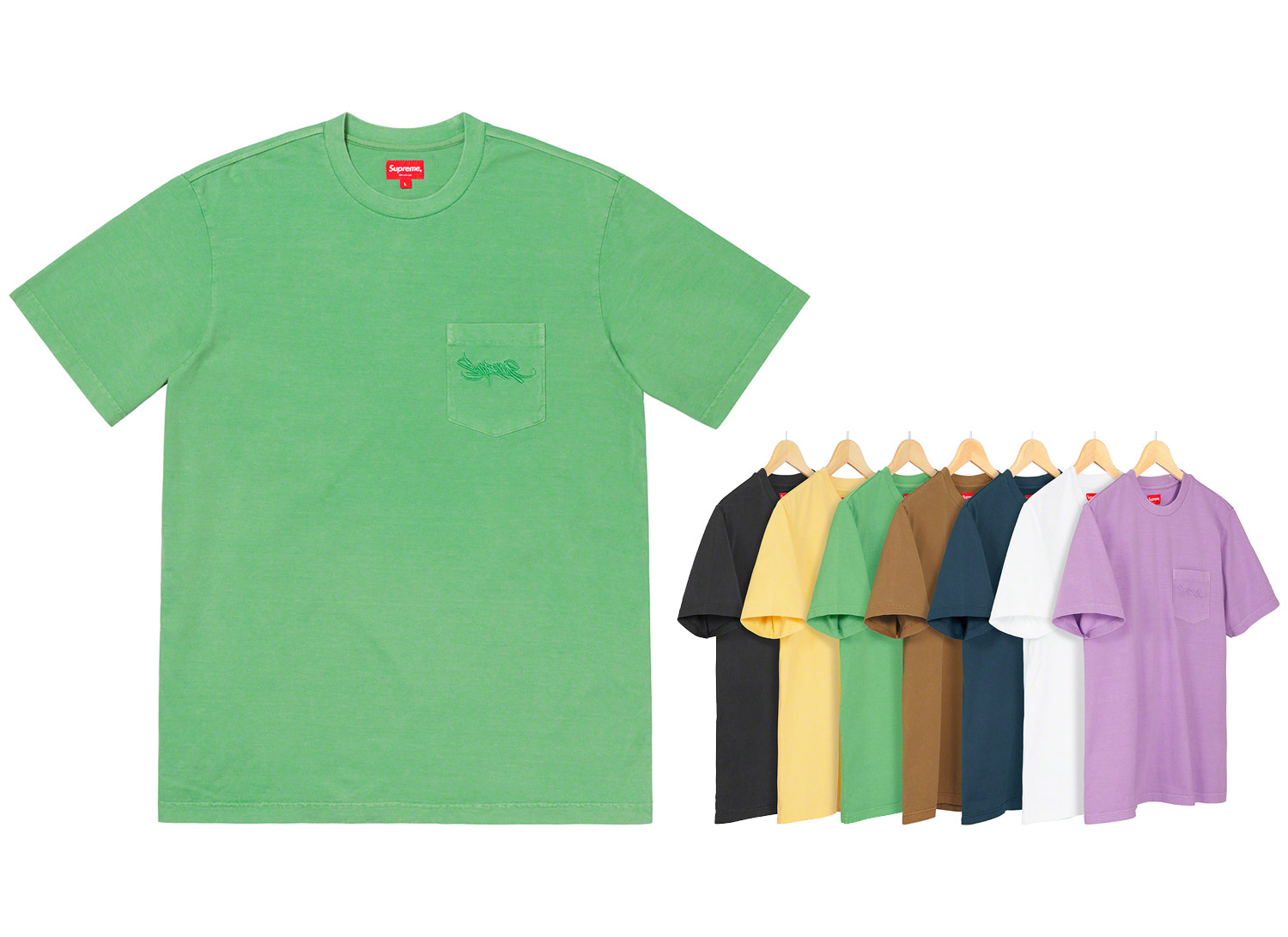 Overdyed Pocket Tee