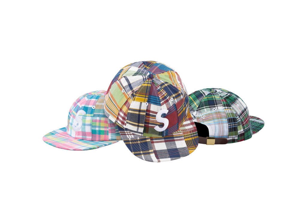 Patchwork Madras S Logo 6-Panel