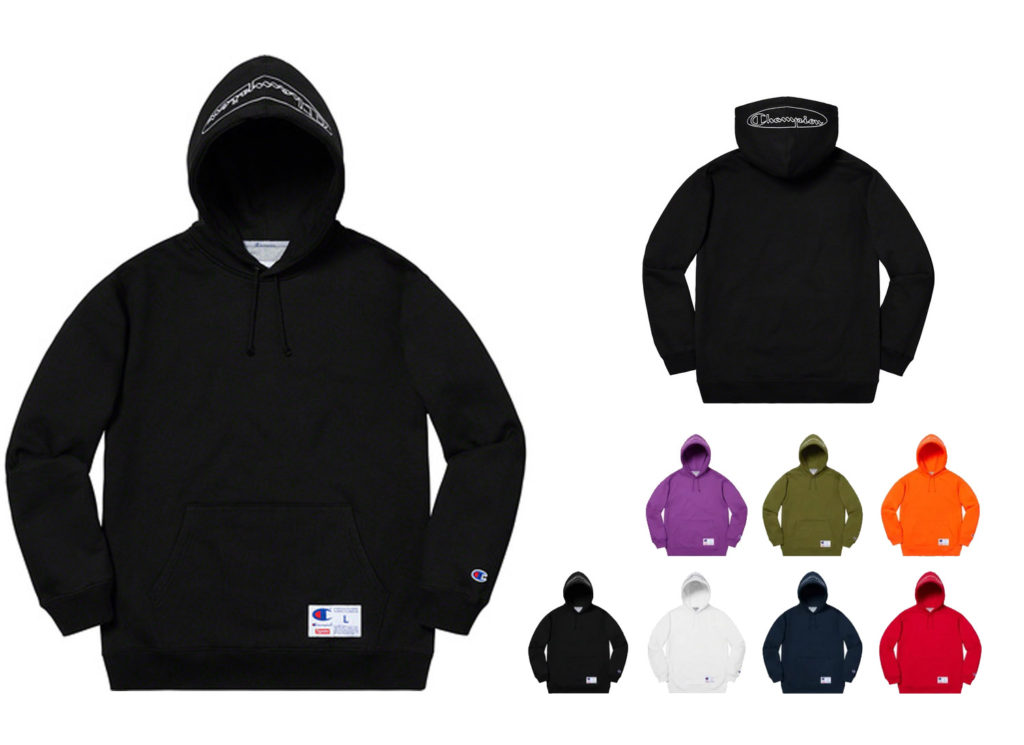 Supreme® / Champion® Hooded Sweatshirt