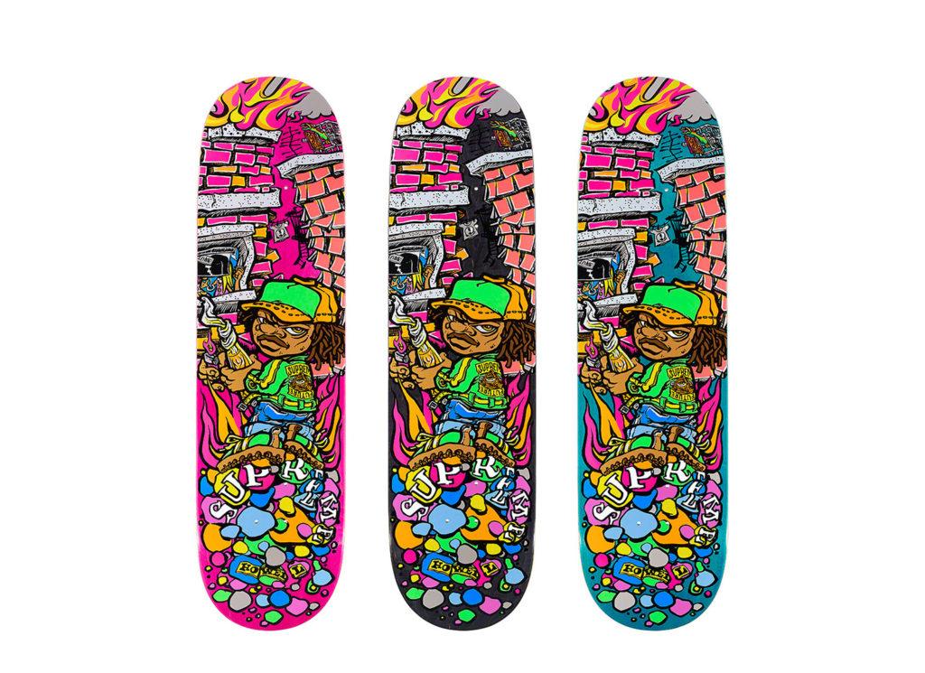 Molotov Kid Skateboard