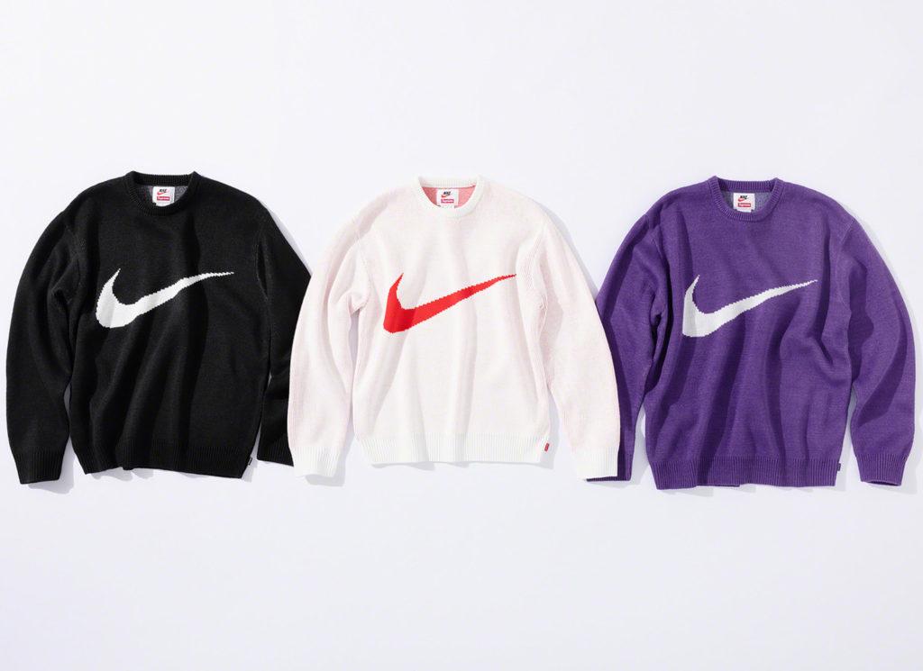 Supreme®/Nike® Swoosh Sweater