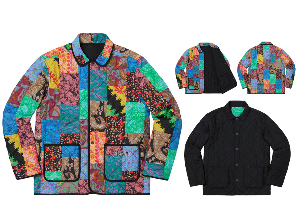 Reversible Patchwork Quilted Jacket