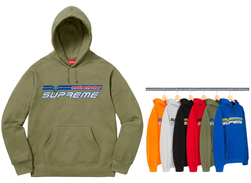 Motherfucker Hooded Sweatshirt